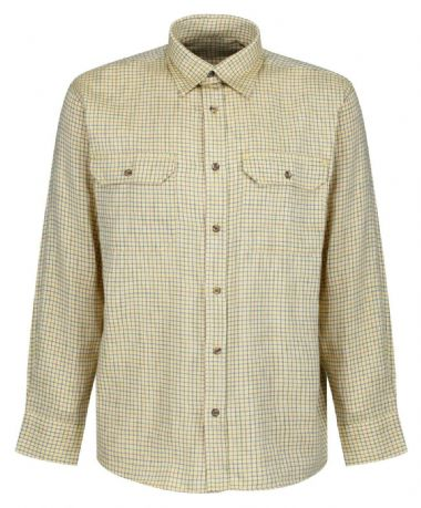 Soft Cotton Corn Tattersall Shirt Traditional Check Quality Shooting Fishing New